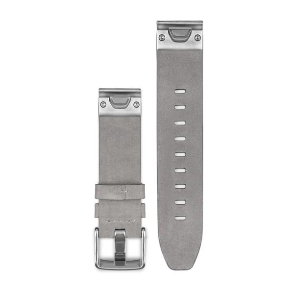 Dây đeo da Xám Quickfit 20 - Garmin Fenix 5S
