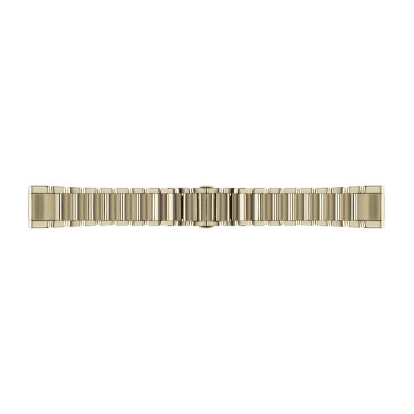 Dây đeo thép không gỉ vàng champagne Quickfit 20 - Garmin Fenix 5S