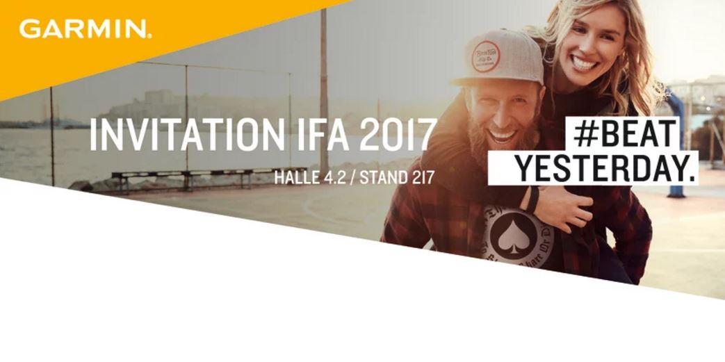 IFA 2017 - Garmin