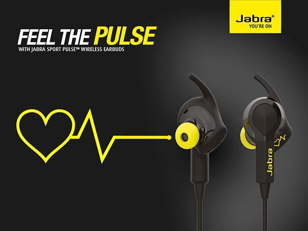 thiết bị cảm biến nhịp tim Jabra Sport Pulse Special Edition