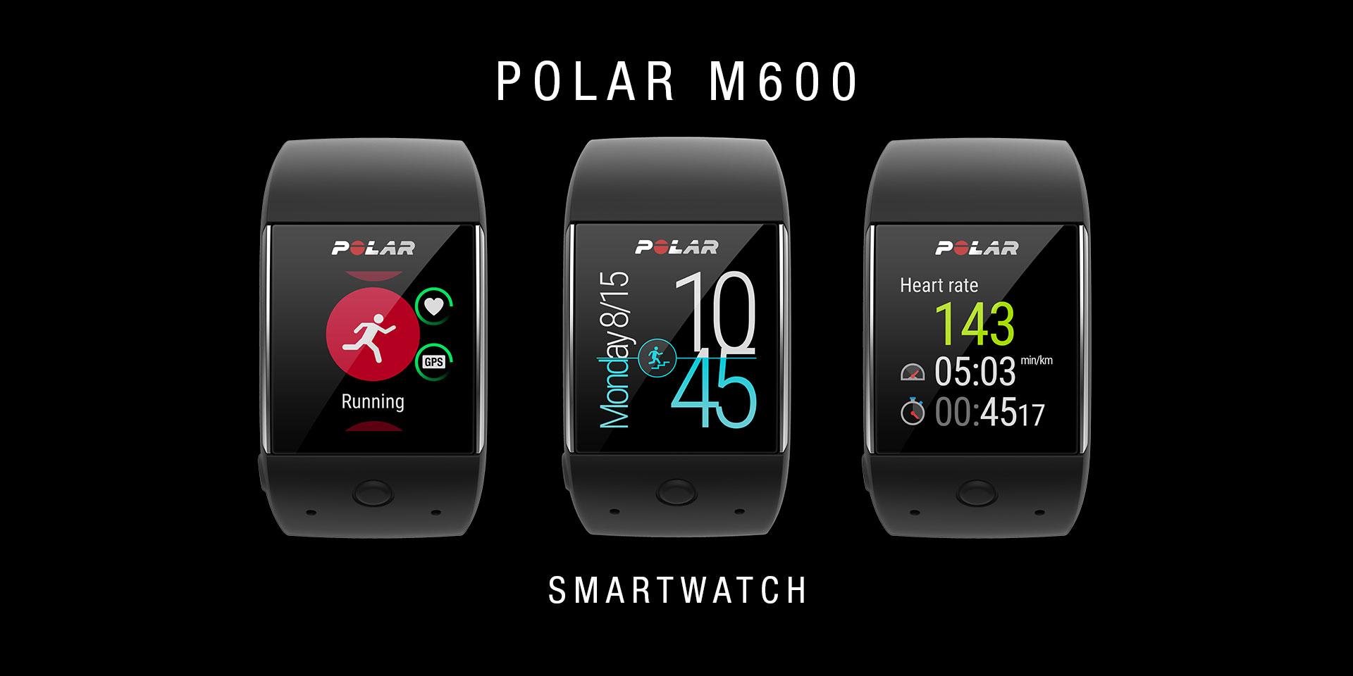 đồng hồ chạy bộ GPS Polar M600