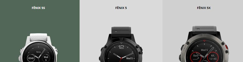 đồng hồ chạy bộ GPS Garmin Fenix 5 Series