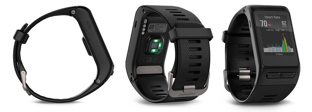 đồng hồ chạy bộ GPS Garmin Vivoactive HR