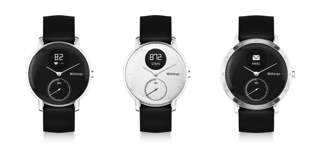 đồng hồ thông minh hybrid Nokia Steel HR