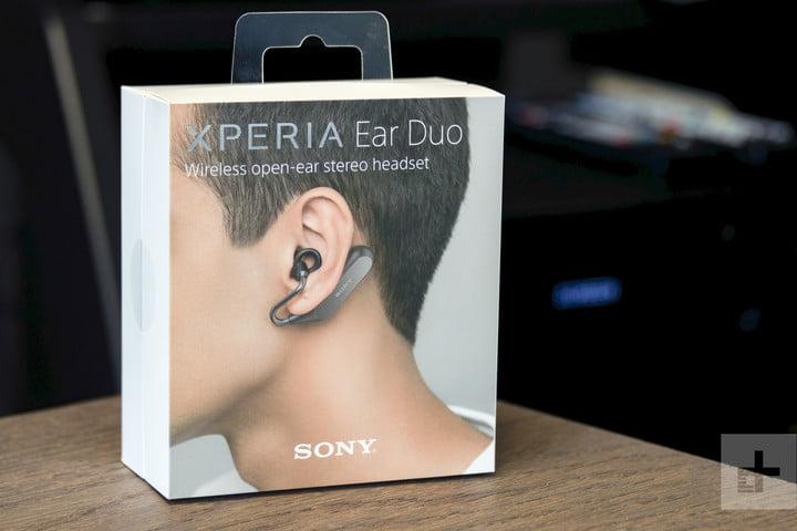 đánh giá tai nghe bluetooth Xperia Ear Duo