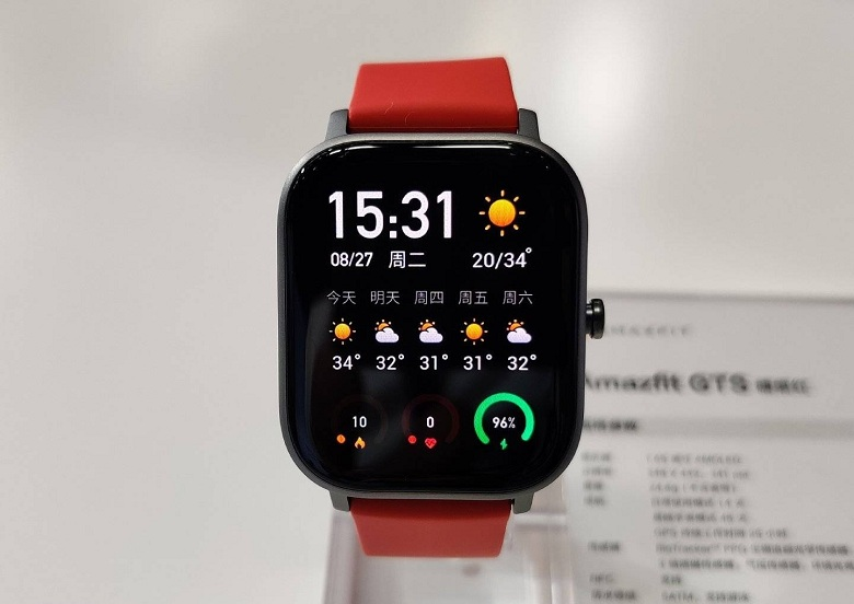 Đồng hồ Xiaomi Amazfit GTS