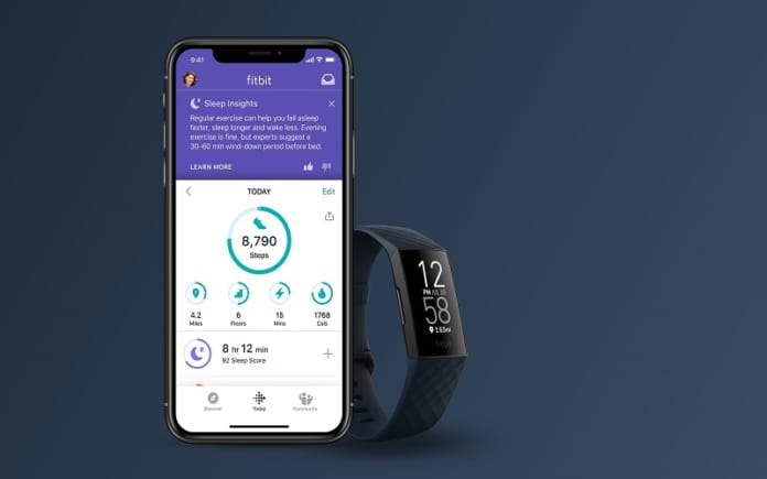 Đồng hồ Fitbit Charge 4