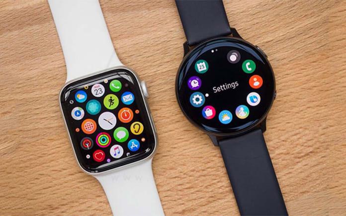 đồng hồ Samsung và Apple
